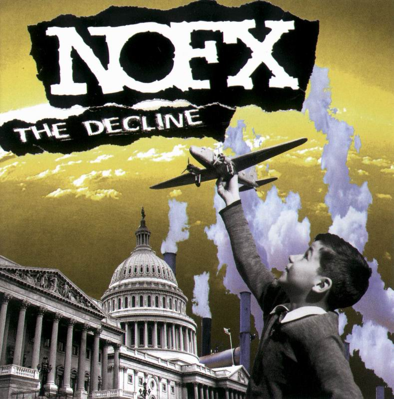 Nofx - The Decline - front - back